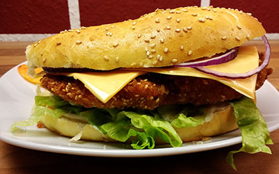Panko Chicken Burger