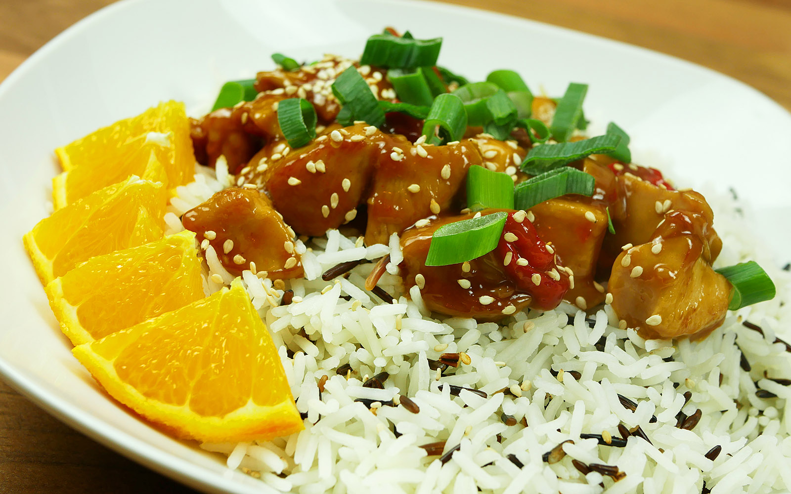 Spicy Orange Chicken
