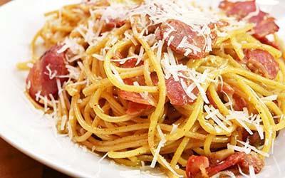 Spaghetti Baconara